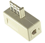 France Phone Line and Phone Adapter